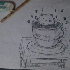素描画西瓜的步骤图片